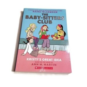 The baby-sitters club book, Kristy's great idea